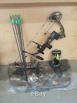 Diamond Deploy 2017 SB Compound Bow Package Right hand 70lbs Free Case & Arrows