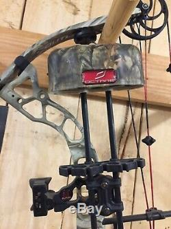 Diamond Outlaw Left Hand Compound Bow Package Ready To Hunt Loaded