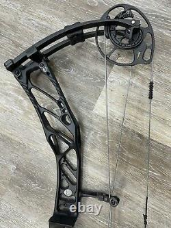 ELITE KURE Compound Hunting Bow 23 to 30 RH 60# to 70# BLACK