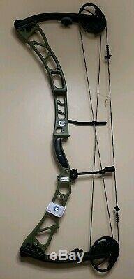 ELITE SYNERGY OLIVE GREEN 3D HUNTING BOW RH/70#/ 29 BRAND NEW With WARRANTY