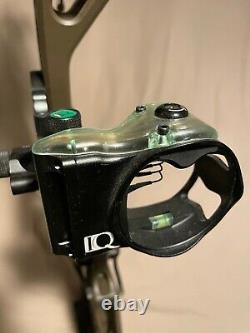 Elite Kure Compound Bow with accessories Ready to Hunt
