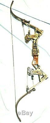Excellent Oneida Lite Force Magnum Eagle Bow Fishing Hunt RH 30-50-70 Long Draw