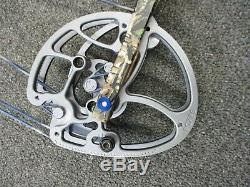 G5 Prime Alloy 28 Draw 60# to 70# LH Archery Compound Hunting Bow + Accessories