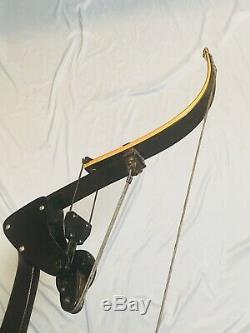 GREEN ARROW BLACK ONEIDA EAGLE HUNT FISHING BOW RIGHT 30-45 LBS 28 31Draw