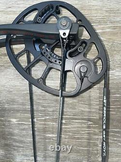 HOYT REDWRX CARBON RX-4 Compound Hunting Bow 25 to 28 Right hand 50# to 60#