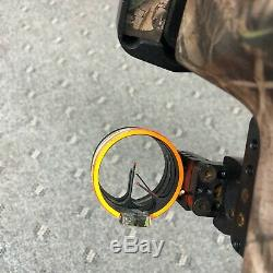 HOYT REFLEX Bighorn COMPOUND BOW RH 27-30 DRAW 60-70 LB READY TO HUNT