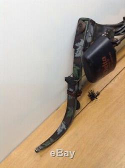 HUNTING ARCHERY COMPOUND BOW- 48 ONEIDA AERO FORCE X80 Camouflage