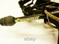 Hoyt Archery Axius Alpha 28 30 LH 70# Black Used