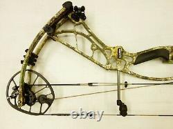 Hoyt Archery Axius Ultra 30 32 RH 60# 70# Realtree Edge Used