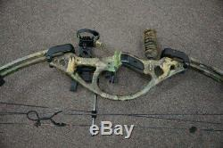 Hoyt Archery Bow Zr 200 Hunting Used Vintage Right Handed Compound D (njl018139)