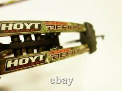 Hoyt Archery Carbon Defiant 34 withacc 29 31 LH 55# 65# Realtree Xtra Used
