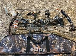 Hoyt CRX 32 RH Full hunting package