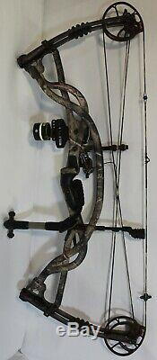 Hoyt Carbon Element G3 Bow 28 Draw 55 LBS. Draw Weight READY TO HUNT