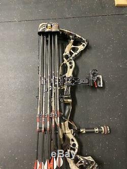 Hoyt Carbon RX1 Turbo Compound RH Hunting 70# 28. Redwrx UA Ridge Reaper