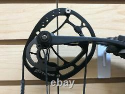 Hoyt Carbon Rx-1 Turbo Hunting Bow Black Bare Bow 70lbs 28