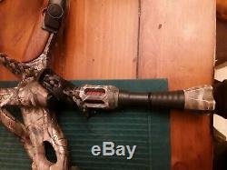 Hoyt Carbon Spyder 30 ZT Archery Bow Compound RH Hunting 60 70# 28.5 Set-up