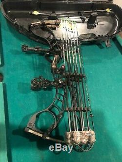 Hoyt Faktor 30 Archery Compound Bow Hunting RH 60-70# 27.5 nice bow in good con
