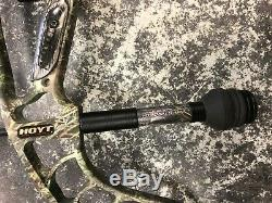 Hoyt Faktor 30 Archery Compound Bow Realtree Camo Hunting LH 28 60-70#