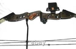 Hoyt HEAT Compound Bow 70# Bow CASE 4 Arrows