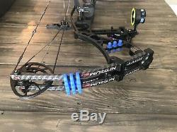 Hoyt Nitrum 30 Blackout RH 60-70 Lbs 27.5 withnew String Ready To Hunt