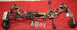 Hoyt Nitrum 30 Right Hand Compound Bow, 60-70 lbs, 26-28, Ready-to-Hunt, RTH