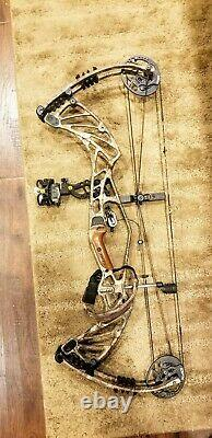 Hoyt Pro Defiant Camo 60-70lb 26-28in draw RH! NICE and ready to hunt