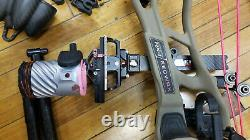 Hoyt Redwrx Carbon RX-1 Compound Hunting Bow with Lots of Extras! Nice