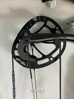 Hoyt rx4 turbo 28 inch draw rh 50-60lb archery bow hunting (7490)