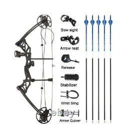 Hunting Sports Bow And Arrow 1 Set Archery 30-70 lbs Compound Bow IBO 320 fps