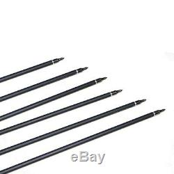 IRQ 50 X 31'' Archery Mix Carbon Arrows Sp500 Hunting For Compound & Recurve Bow