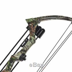JH7474 20lbs Camo Right Hand Compound Archery Bow F Hunting Fishing Sport