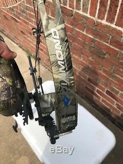 LOADED 2010 Diamond Rock 2.0 Right Hand 60lb 29 Compound Hunting Bow Package