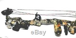 LOADED #### Vortex Compound Bow by BARNETT 60lbs. Black Cam