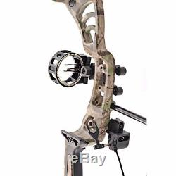 Leader Accessories Compound Bow 30-55lbs Archery Hunting with Max Speed 296fps