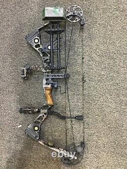 Lef hand Used Mathews Outback hunting package 27.5 60-70# 2