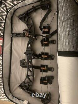 MARTIN ARCHERY CARBON VYZION COMPOUND BOW RH PKG LOADED never Hunted