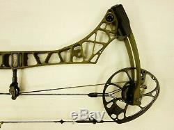 Mathews Archery VXR 28 29 RH 60# 70# Green Ambush Used