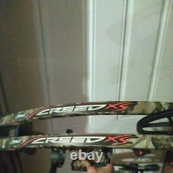 Mathews Creed XS Archery Bow Compound RH Hunting 60 70# 28 Setup QAD Rest