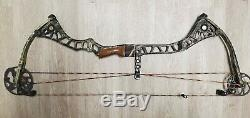 Mathews Drenalin LD, right hand bow 27 Draw length, Realtree, solo cam, hunting
