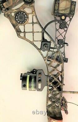 Mathews Heli-M Compound Bow Package RH 50# / 27 Draw READY TO HUNT