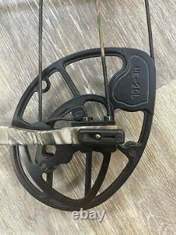 Mathews Helim Compound Hunting Bow 29 Left hand 50# to 60# Lost Camo used