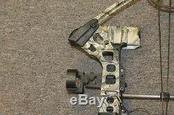 Mathews Mission Craze Compound RH Hunting Bow+Sight+Quiver Pre-owned