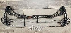 Mathews Monster Wake RH Compound Archery Bow 28/70 Black fast, hunting