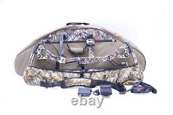 Mathews No Cam HTR Hunting Bow with Shoulder Strap, Case and Extras