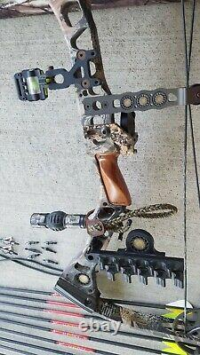 Mathews Switchback XT LH Bow 60 lb 29 Arrow Case Kit READY to HUNT Left hand