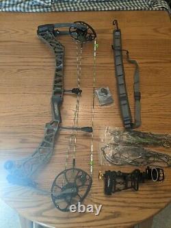 Mathews VXR 31.5 Archery Bow Compound RH Hunting 60# 28 ambush Green