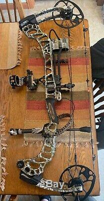 Mathews Vertix Archery Bow Compound Edge Camo RH Hunting 30 60 70#