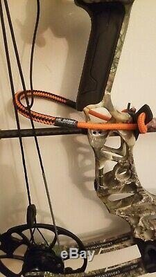 Mathews Vertix Archery Bow Compound RH Hunting 27.5 65# realtree 85%