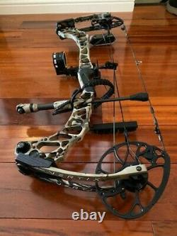 Mathews Vertix Compound Hunting Bow loaded with accessories & arrows