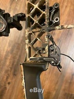 Mathews compound bow chill 70lb draw weight and 29 draw length, hunting bow